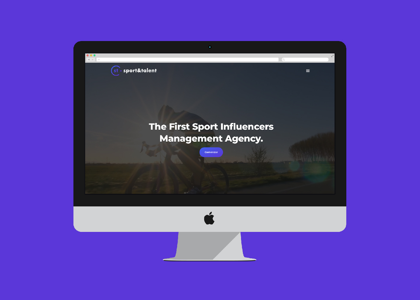 Diseño y programación de página web destinada a captación de influencers deportivos
