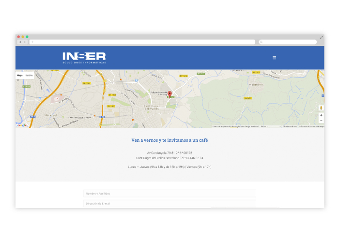 Dise o web wordpress inform tica factoryfy for Diseno arquitectonico informatica