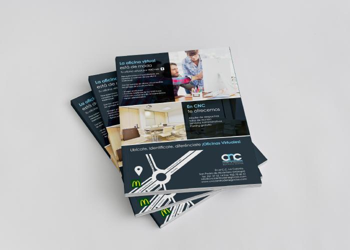 Diseño de publicidad para un centro de negocios
