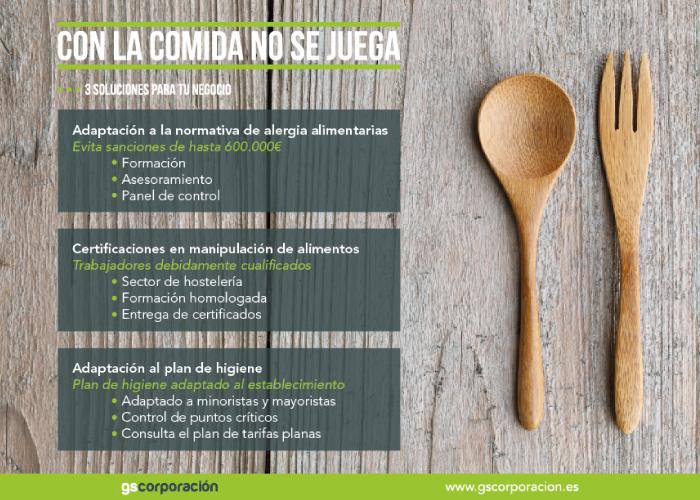 Diseño de publicidad de seguridad alimentaria