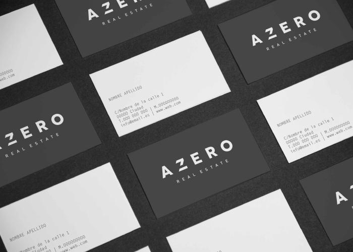 Diseño tarjetas inmobiliaria