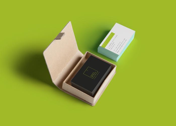 diseño tarjetas construcción y reformas
