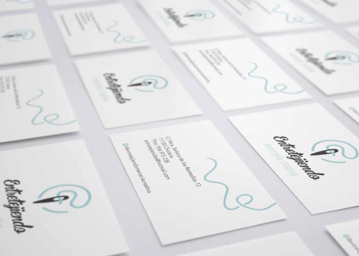 Diseño tarjetas mercería creativa