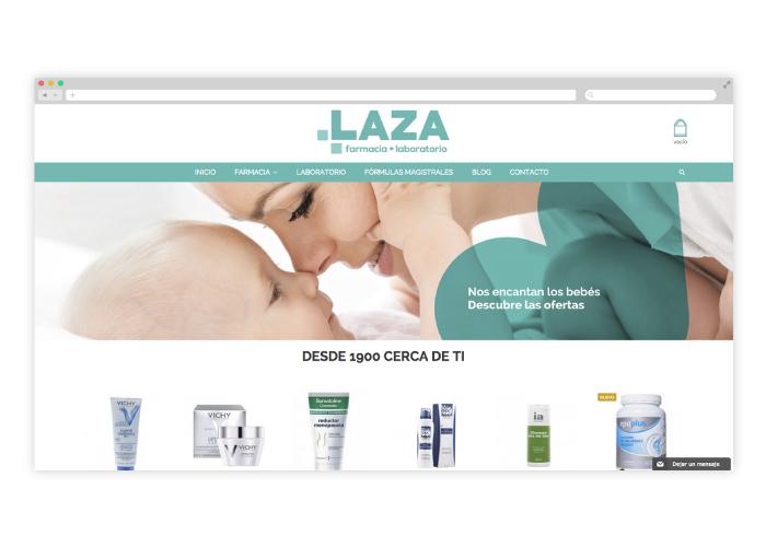 Diseño de tienda farmacéutica online para Málaga