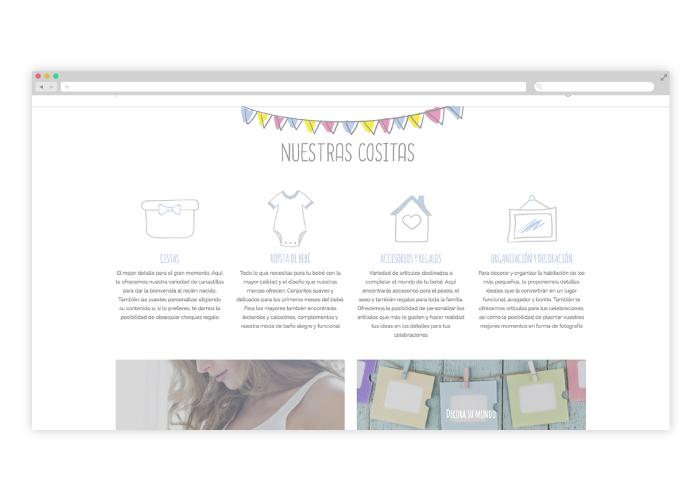 1e4518b89 ... Diseño y desarrollo de tienda online en wordpress de ropa para niños y  bebés ...