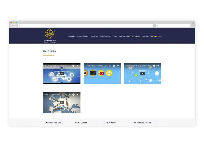 Diseño de web wordpress subvenciones europeas
