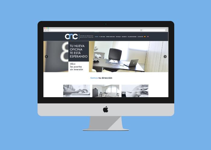 Diseño web wordpress para centro de negocios