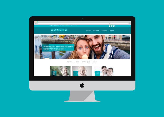 Diseño de web para clínica dental en las palmas de gran canaria