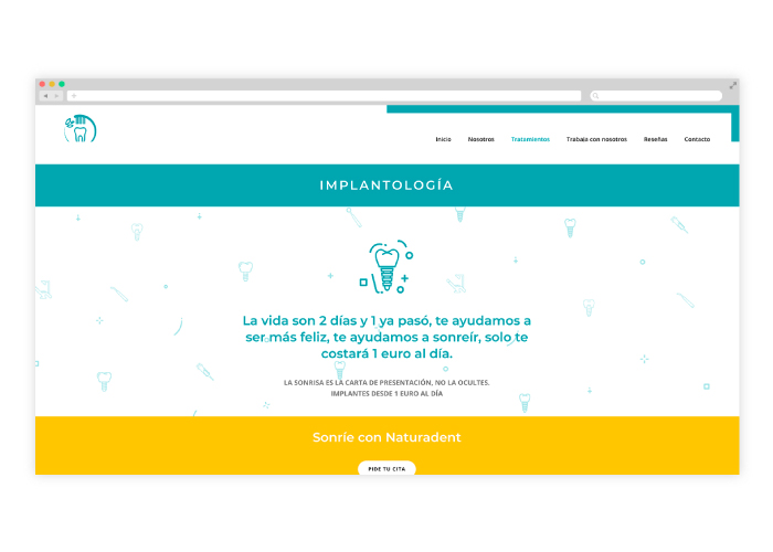 diseno-web-clinica-implantologia