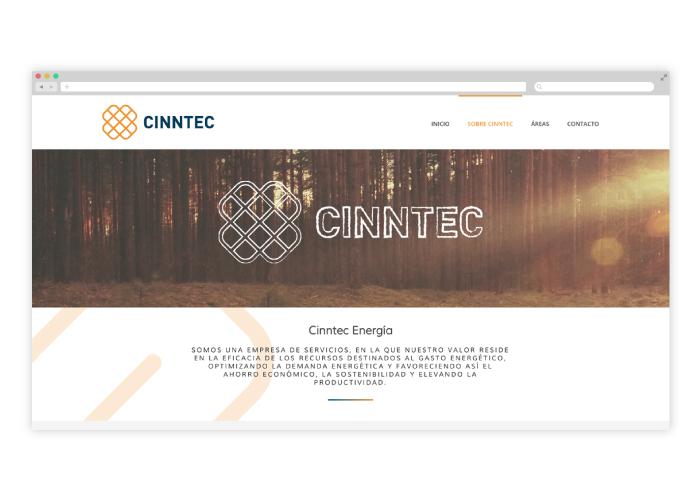 Diseño web consultoría en innovación tecnológica y energética