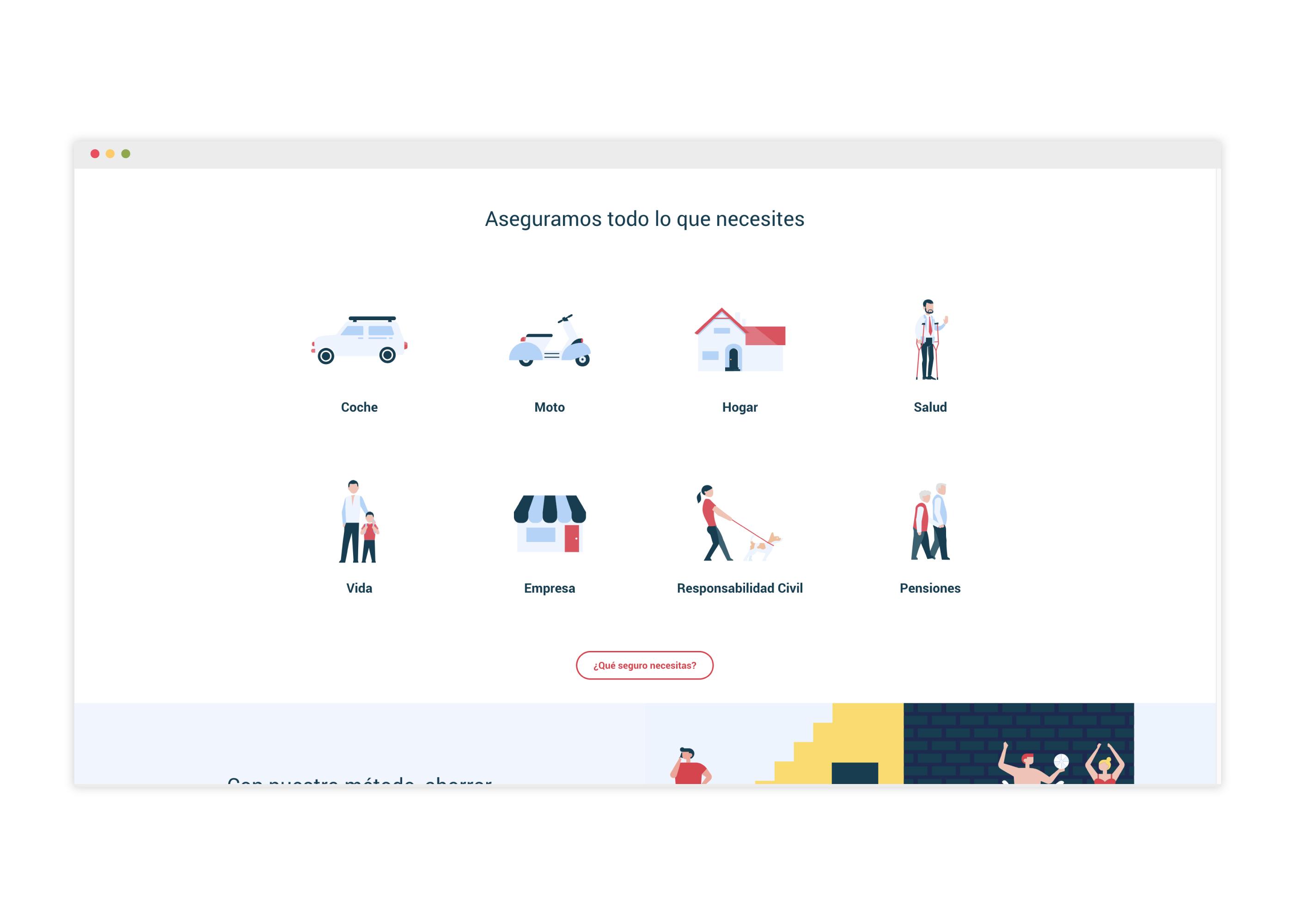 Diseño web para una correduría de seguros