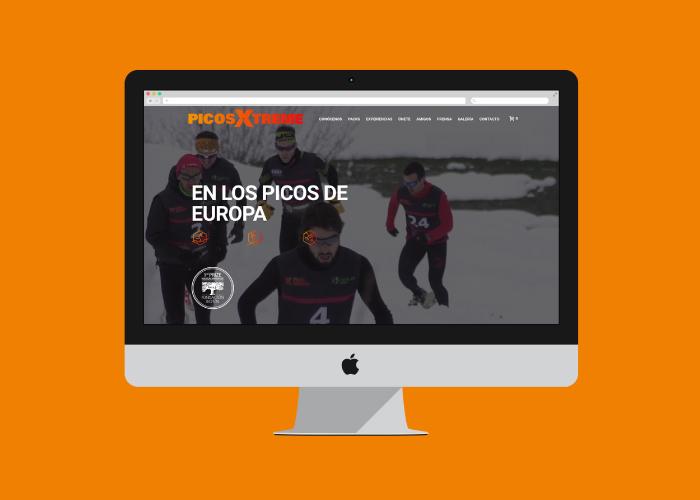 Diseño web y tienda deportes de aventura