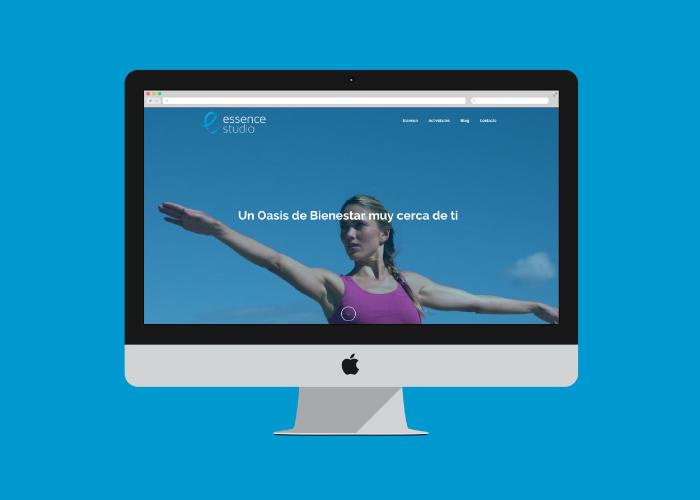 Diseño web para estudio de gimnasia