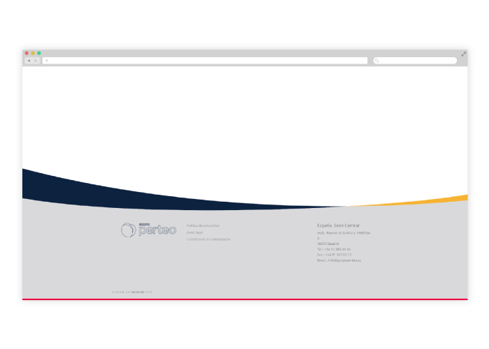 Diseño web responsive empresa construcción Madrid