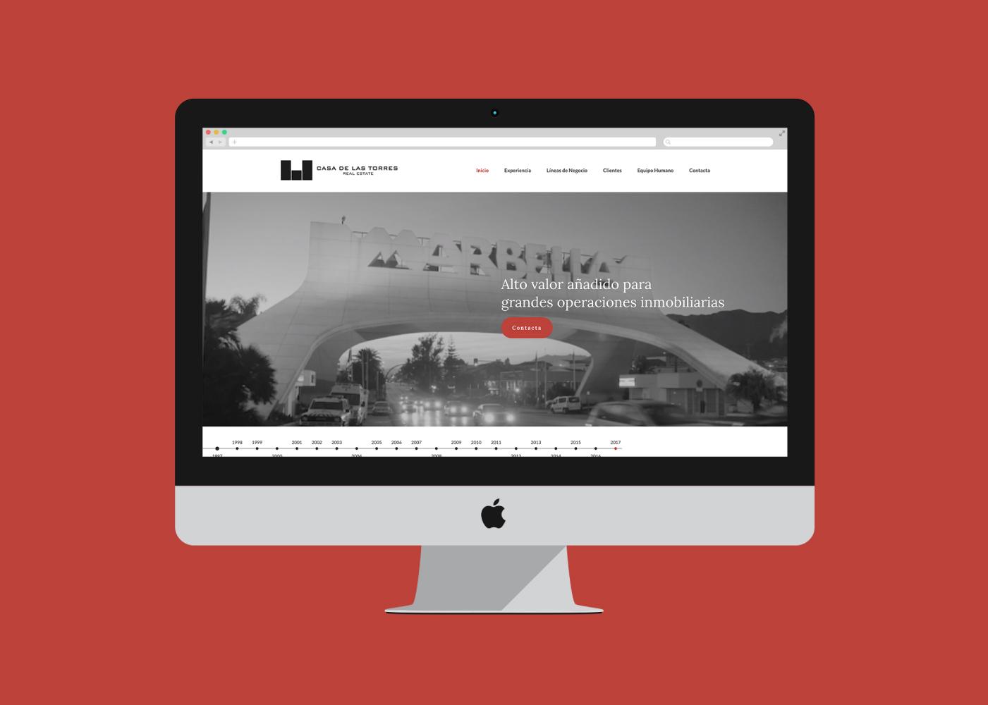 Diseño web consultora inmobiliaria