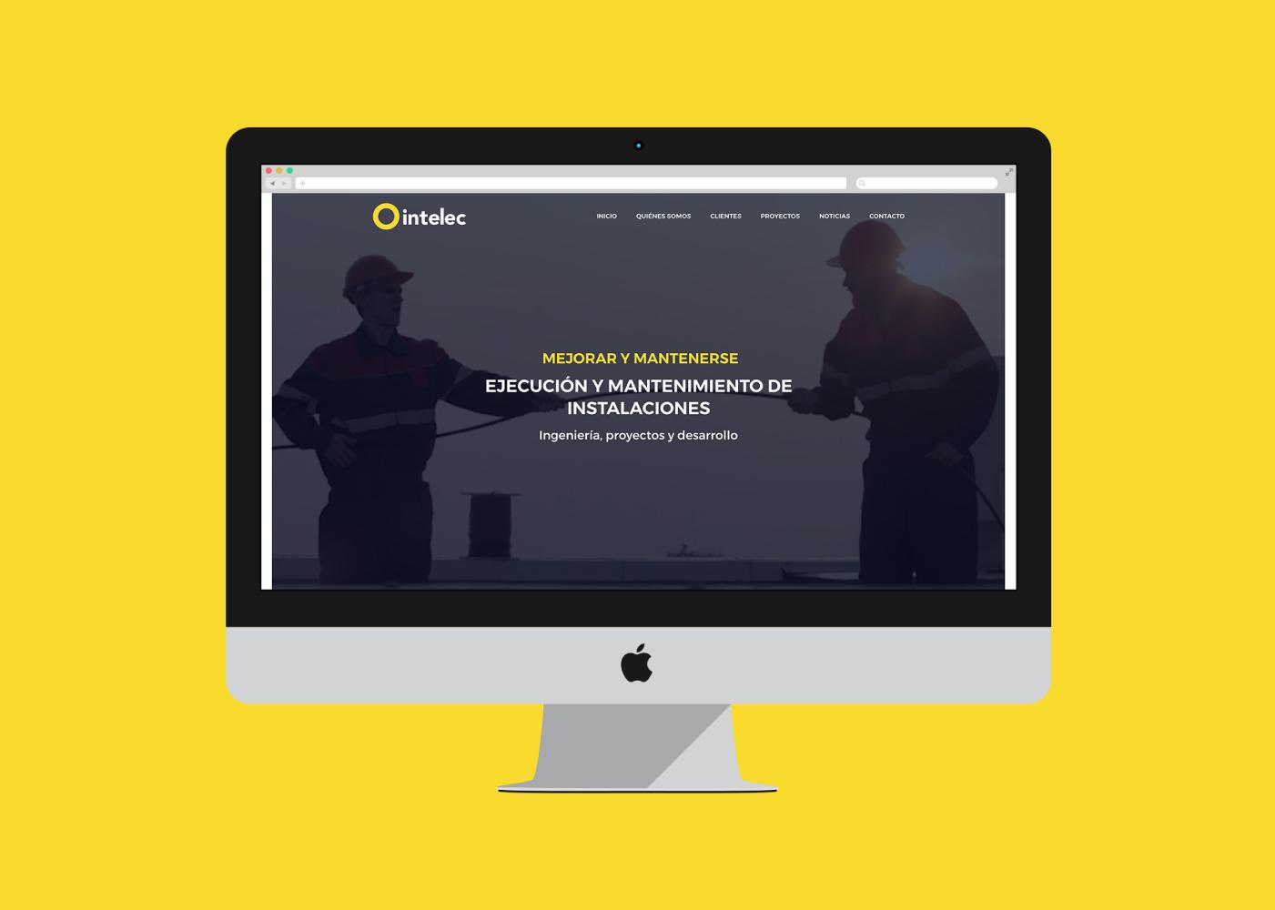 Diseño web mantenimiento de istalaciones