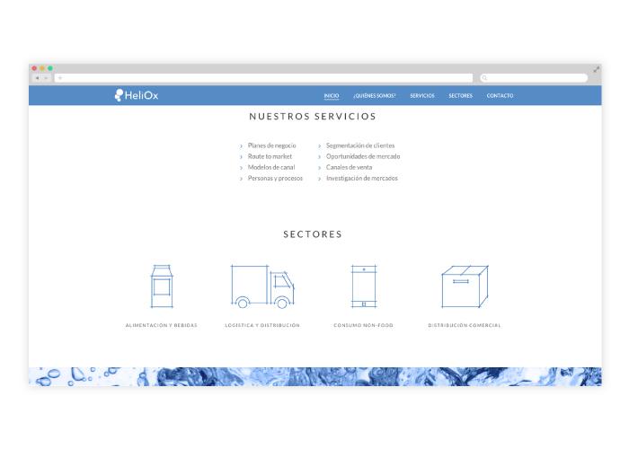 Diseño de web para consultoría