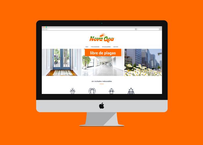 Diseño de web para empresa de control de plagas