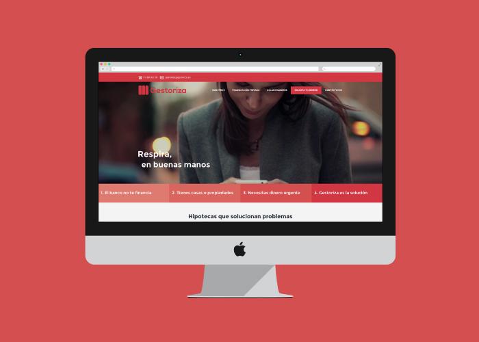diseño web word press hipotecas privadas