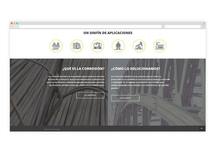 Diseño home web en Word press