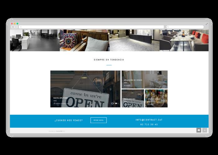 Diseño web empresa interiorismo y decoración