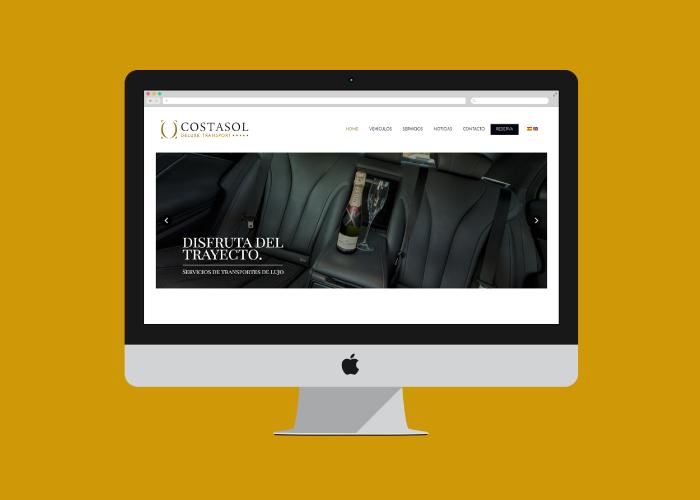 Diseño web responsive servicios de transfer de lujo