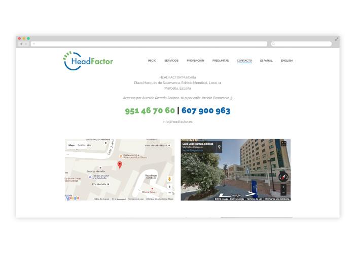 Diseño y programación web para empresa de tratamiento antipiojos