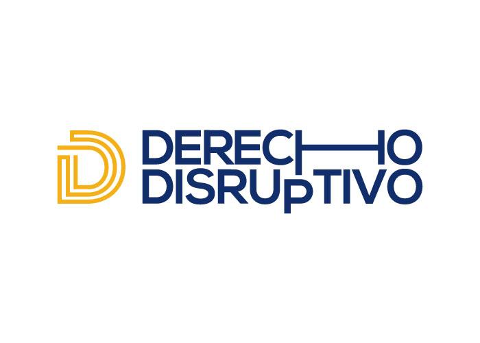 Diseño logo derecho y tecnología