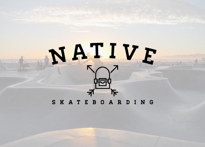 Diseño de logotipo para ropa skater
