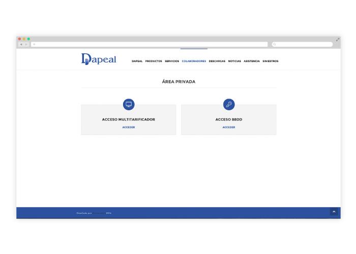 Diseño web wordpress para una correduría de seguros