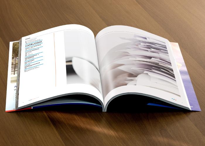 Dossier para empresa dedicada a la distribuci n de for Distribucion de oficinas en una empresa