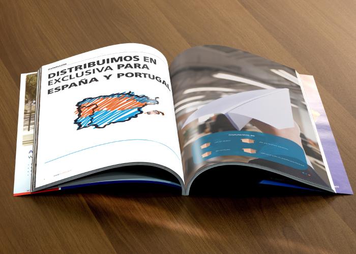 Dossier para empresa dedicada a la distribuci n de for Material de oficina madrid