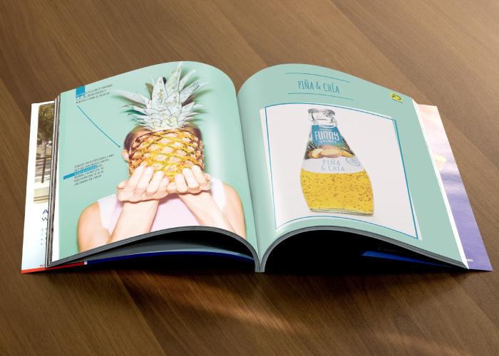 Diseño catalogo de bebidas funcionales