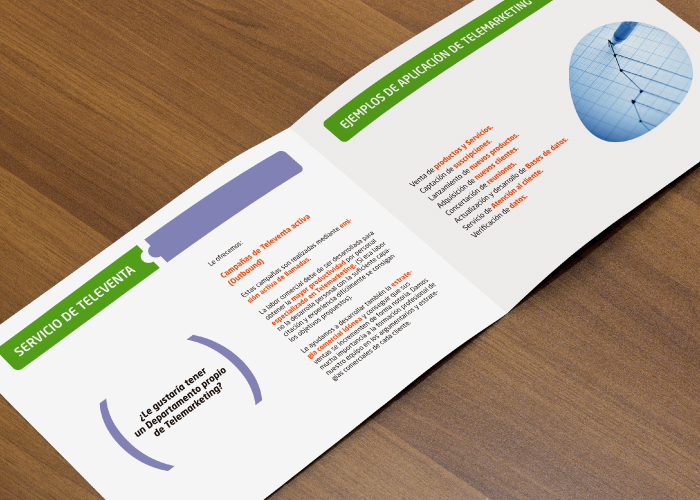 Diseño de dossier para empresa especializada en servicios de outsourcing