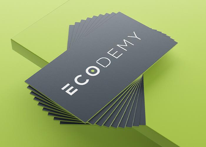 creamos logo y nombre comercial empresa de formación ecología