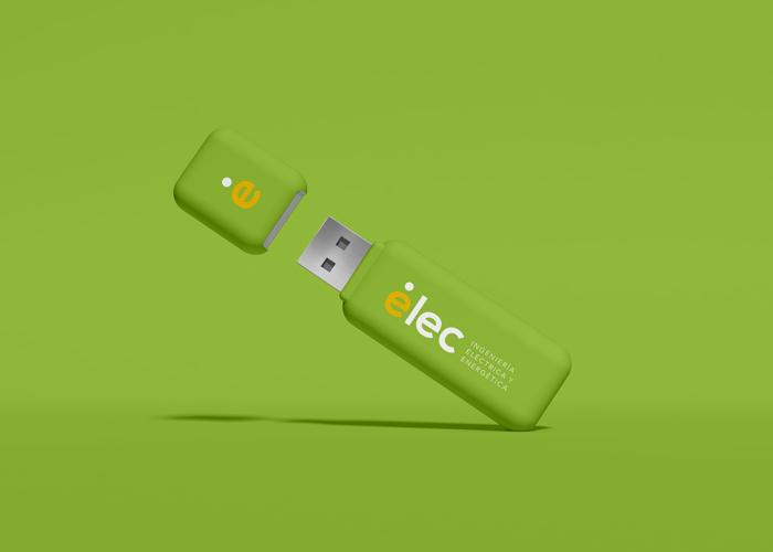 Diseño de logo energía electrica