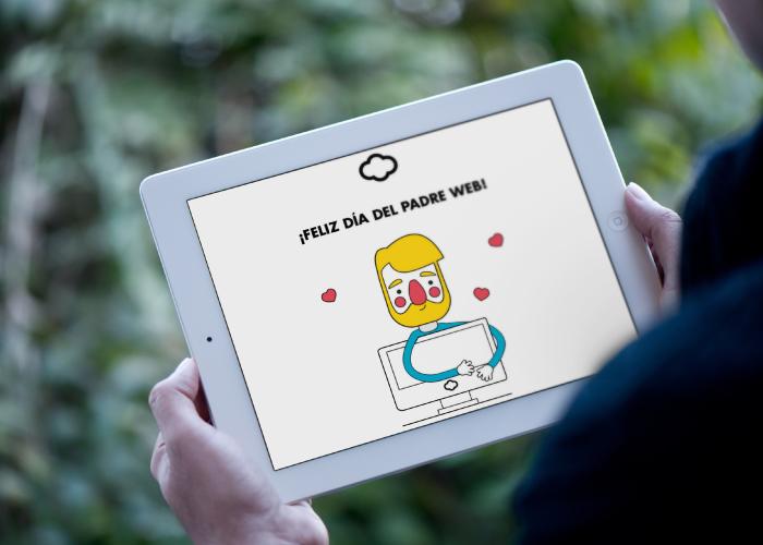 Diseño para una campaña de mail marketing y facebook dedicada al día del padre