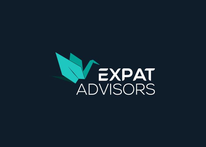 diseño logo expatriados