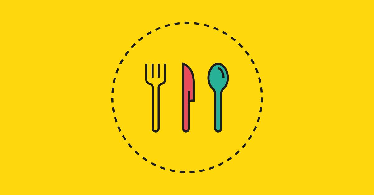Diseños de logos de restaurantes, bares, cafeterías, heladerías y más