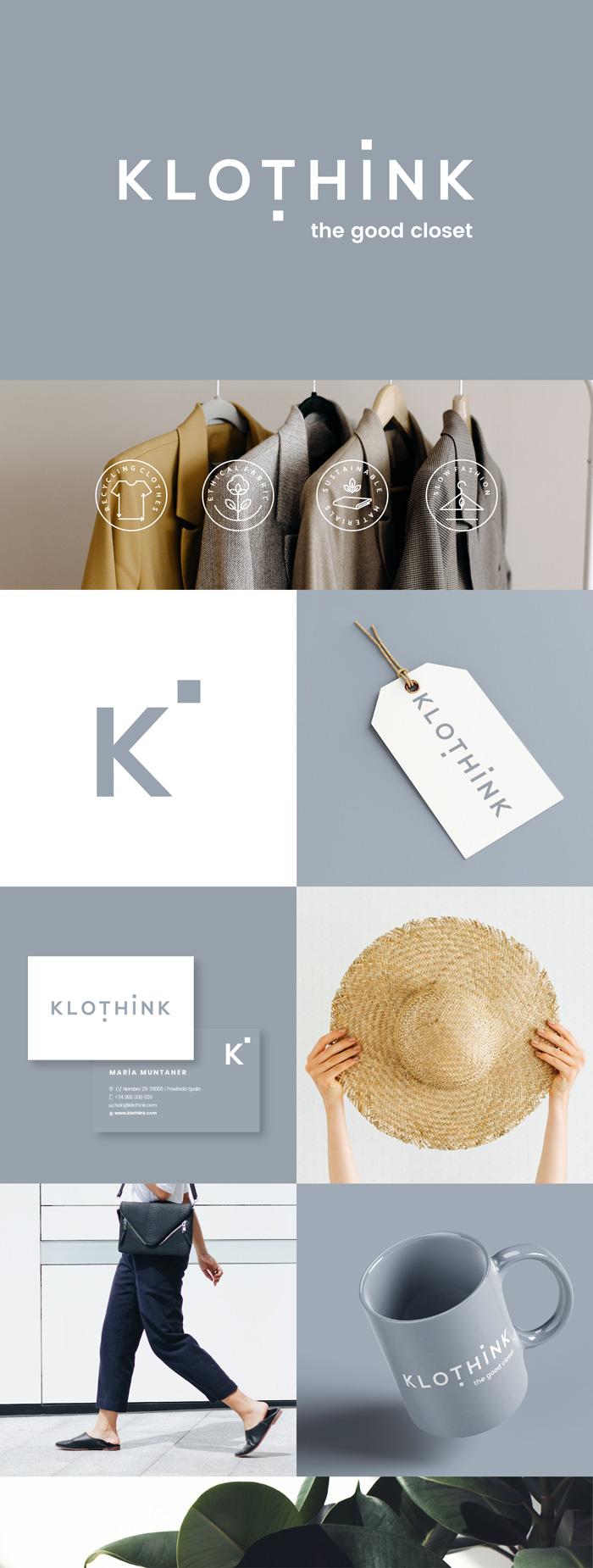 diseño logo moda circular