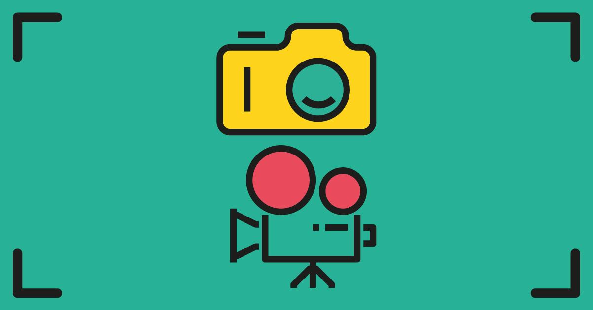 Los mejores logos de fotógrafos y audiovisual