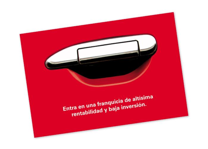 Diseño de flyers de promoción para franquicia financiera