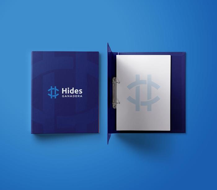 Diseño de carpeta de Hides ganadera