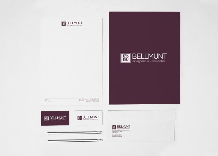 Diseño de marca y papelería para consultores y abogados TIC