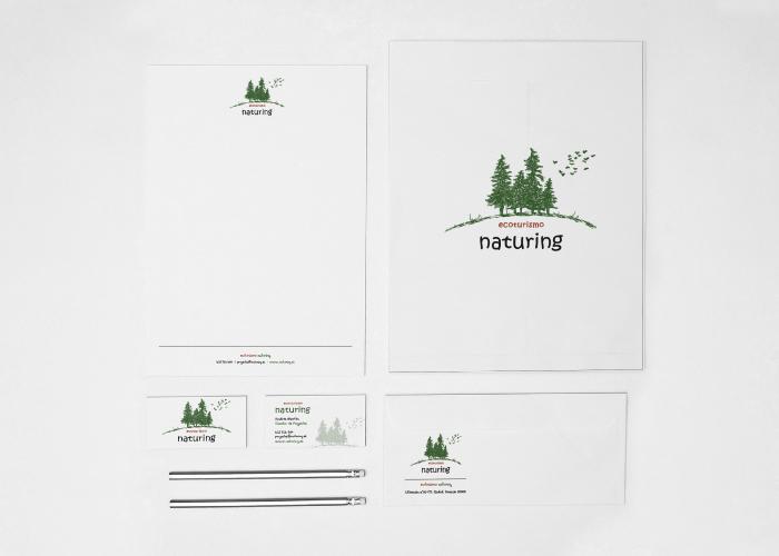 Diseño identidad corporativa ecoturismo