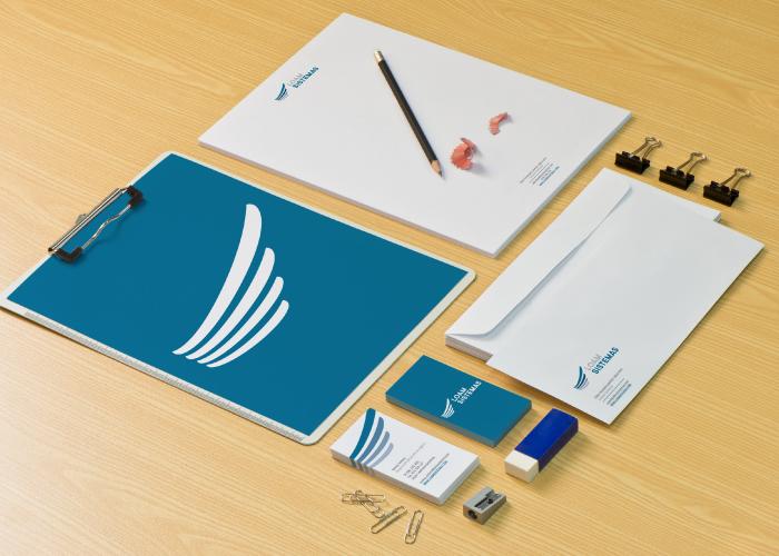 Diseño de identidad corporativa para una empresa dedicada a la consultoría y servicios IT