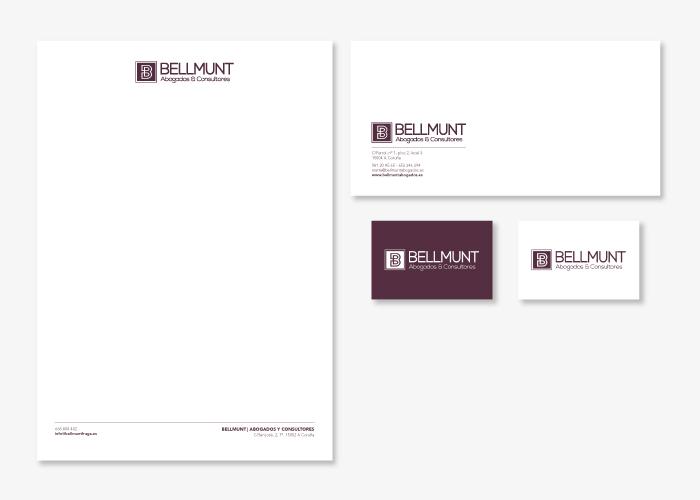 Diseño de la identidad corporativa despacho de abogados TIC