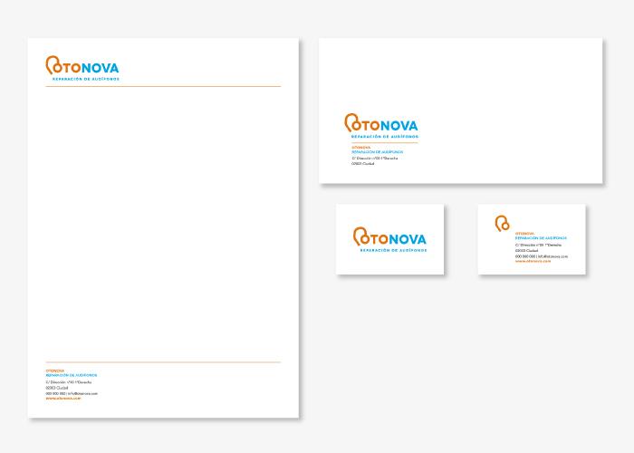 Diseño de la identidad corporativa para una empresa dedicada a la reparación de audífonos