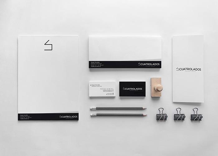 Diseño identidad empresa audiovisual