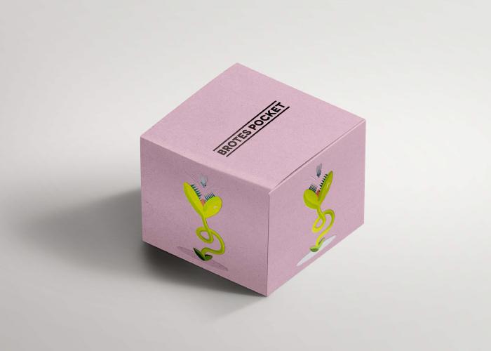 Propuestas de ilustraciones para packaging de productos orgánicos